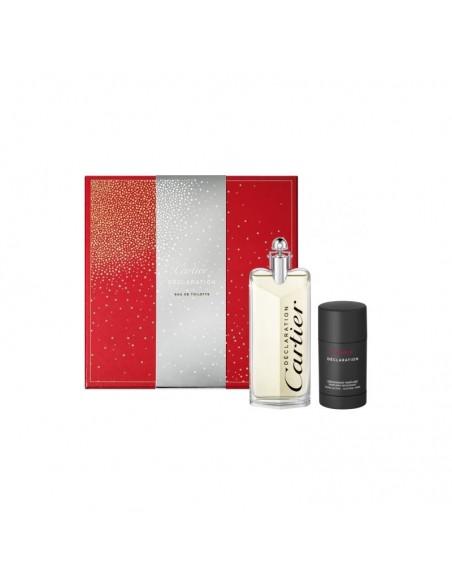 Cartier Declaration Set (Eau De Toilette 100 ml Spray+ Deo Stick 75 ml)