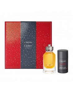 Cartier L'Envol Set (Eau De Parfum 80 ml Spray + Deo Stick Parfum 75 ml)