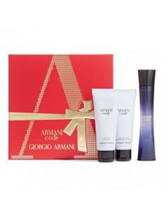 Giorgio Armani Code Femme cofanetto Eau de Parfum 75 ml + Shower Gel 75 ml + Body lotion 75 ml