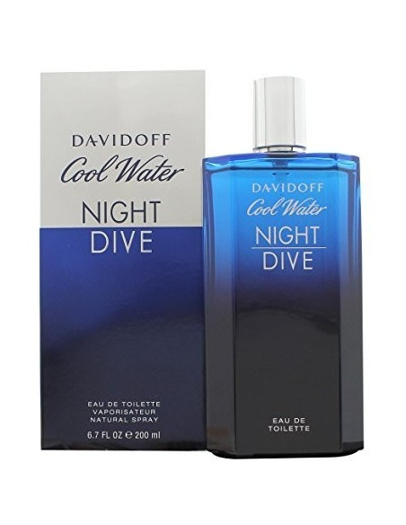 Davidoff Cool Water Night dive Eau de Toilette 200 ml