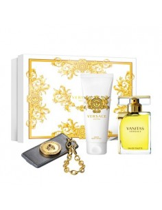 Versace Vanitas Coffret Eau de Toilette 100 ml + Body Lotion 100 ml + Key Chain