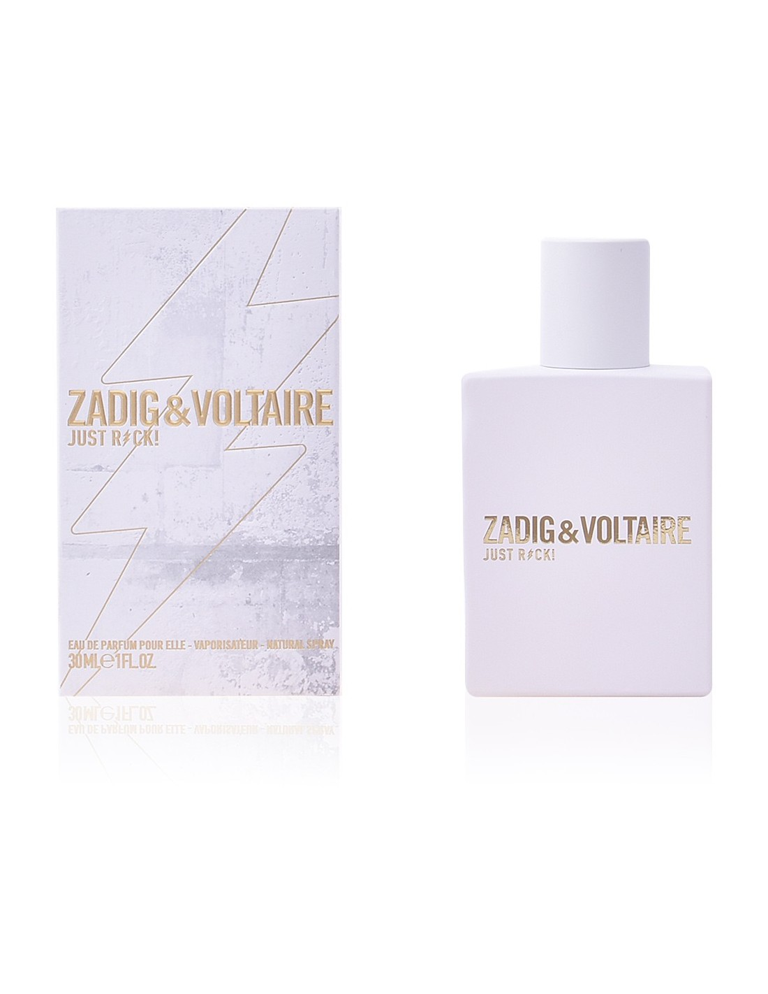 zadig voltaire just rock for her eau de parfum 50 ml. Black Bedroom Furniture Sets. Home Design Ideas