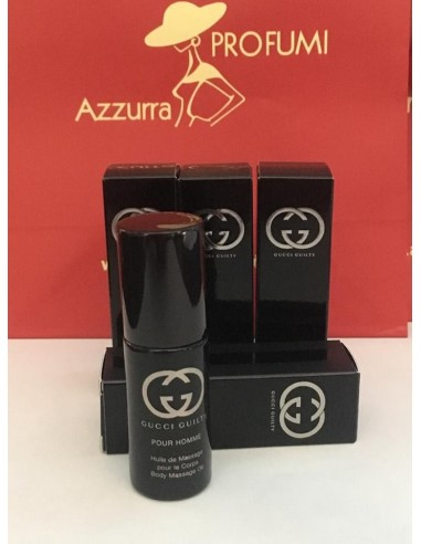 Gucci Guilty pour Homme Body Massage Oil 8 ml spray (4 pezzi)
