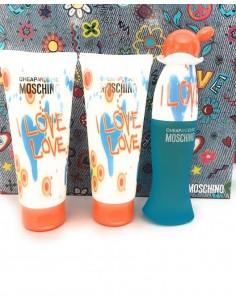 Moschino Cheap & Chic I Love Love coffret Eau de Toilette 50ml+ Shower Gel 100ml+ Body Lotion 100ml