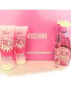 Moschino Pink Fresh Couture coffret Eau de Toilette 100ml+ Eau de Toilette miniatura 10ml+ Shower Gel 100ml+ Body lotion 100ml