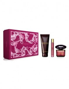 Versace Crystal Noir coffret Eau de Toilette 90ml+ Eau de Toilette miniature 10ml+ Shower Gel 150ml