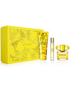 Versace Yellow Diamond coffret Eau de Toilette 90ml+ Eau de Toilette miniature 10ml+ Shower Gel 150ml