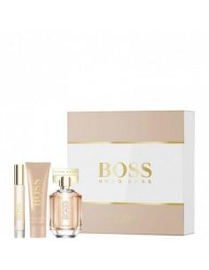 Hugo Boss The Scent For Her Set ( Edp 50 ml Spray+Body Lotion 50 ml+Mini 7,4 ml)