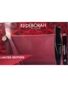 Deborah Pochette Mascara 24 Ore Absolute Volume + Kajal + Pochette