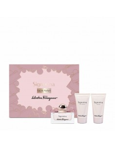 Salvatore Ferragamo Signorina Set (Eau De Parfum 50 ml + Body Lotion 50 ml + Shower Gel 50 ml)
