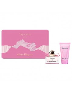 Salvatore Ferragamo Signorina In Fiore Set (Eau De Parfum 30 ml + Body Lotion 50 ml)