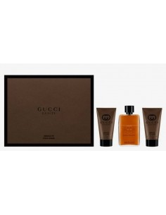 Gucci Guilty Absolute Pour Homme Set Eau de Parfum 90 ml + Beard Oil 30 ml + Brush