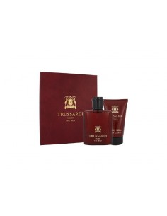 Trussardi Uomo The Red Set ( Edt 50 ml Spray + Shower Gel 100 ml)