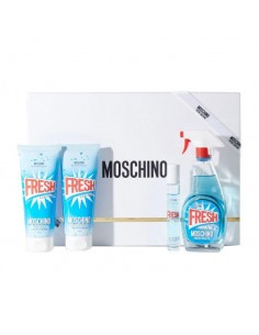 Moschino Fresh Couture ciffret Eau de Toilette 100ml+Eau de Toilette miniatura 10ml+ Shower Gel 100ml+ Body Lotion 100ml
