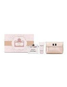Salvatore Ferragamo Signorina Set (Eau De Parfum 100 ml + Body Lotion 50 ml + Eau De Parfum 10 ml)