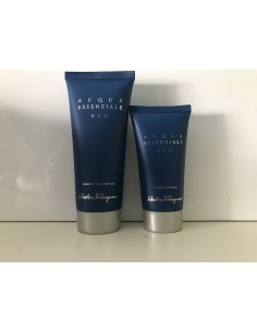 Salvatore Ferragamo Acqua Essenziale Blu Shower Gel 100 ml + After Shave Balm 50 ml - Senza Scatola