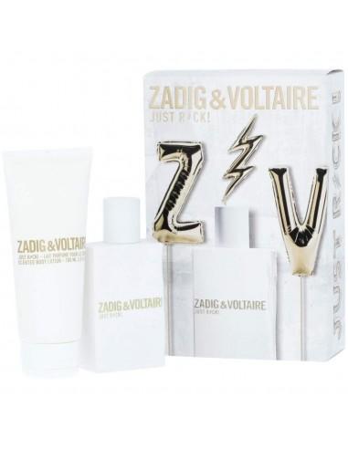 Zadig & Voltaire Just Rock for Her Cofanetto Eau de Parfum 50 ml spray + Body lotion 75 ml