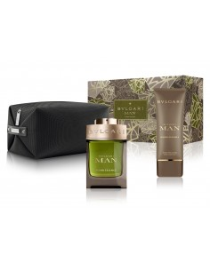 Bulgari Man Wood Essence Set ( Eau de Parfum 100 ml + After Shave Balm 100 ml + Trousse)