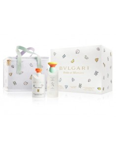 Bulgari Petits & Mamans Set (Eau de Toilette 100 ml Spray + Body Lotion 75 ml + Bag)