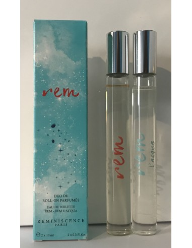 Reminiscence Duo de Roll - On Parfumés Rem Eau De Toilette + Rem L'acqua Eau de Toilette 2x10 ml - Tester