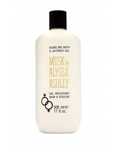 Alyssa Ashley Musk Bubbling Bath and Shower Gel 500 ml