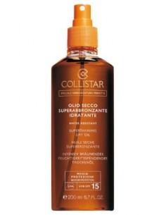 Collistar Speciale Abbronzatura Perfetta Olio Secco Super Abbronzante Idratante SPF 15 200 ml