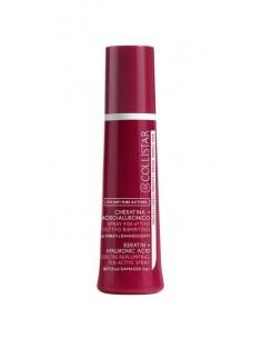 Collistar Speciale Capelli Perfetti Attivi Puri Spray Fissa-Attivo Ricostruttivo Riempitivo Cheratina + Acido Ialuronico 100 ml