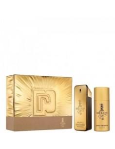 Paco Rabanne One Million Set ( Eau de Toilette 100 ml Spray + Deo Spray 150 ml)