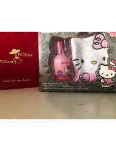 Hello Kitty Set (Acqua Di Colonia Senza Alcol Ads 100ml+ Guanto Da Doccia)