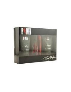 Thierry Mugler B Men Coffret ( Edt 15 ml Travel + 1 ricarica 15 ml+Shower Gel 50 ml + After Shave Gel 50 ml)