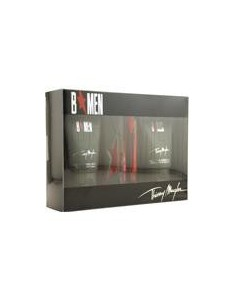 Thierry Mugler B Men Coffret ( Edt 15 ml Travel + 1 ricarica 15 ml+Shower Gel 50 ml + After Shave Gel 50 ml)
